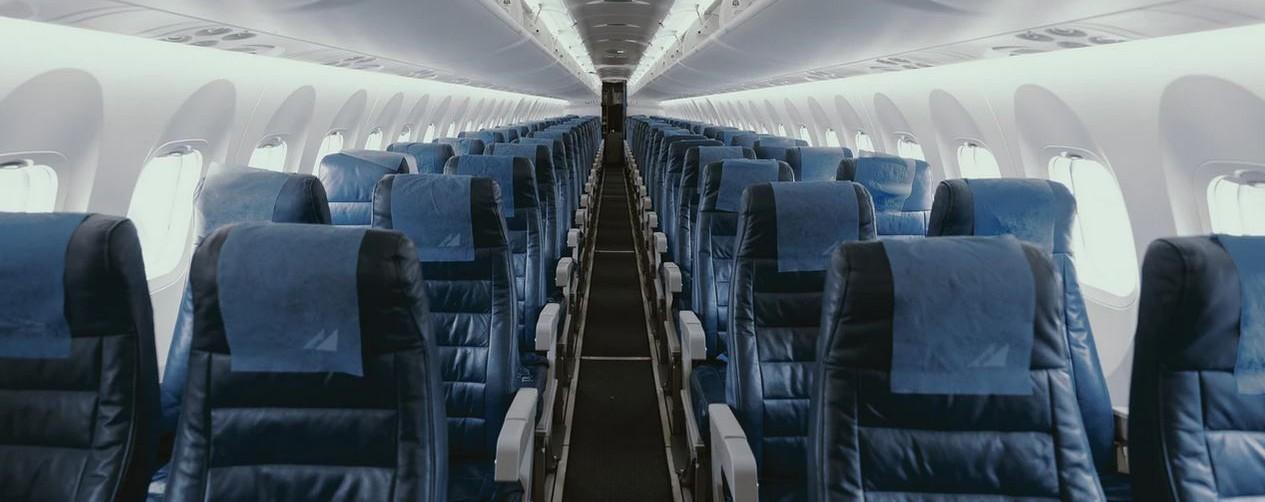 Leeg vliegtuig